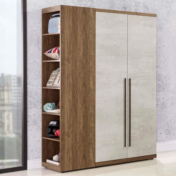 Yostyle 格林3.7尺衣櫃(雙色)