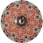 日本decolfa紋彩裝飾掛勾-粉嫩色M4100 (直徑12.5cm)