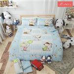 【Luna Vita X SNOOPY】台灣製 100%純棉 史奴比涼被/童被