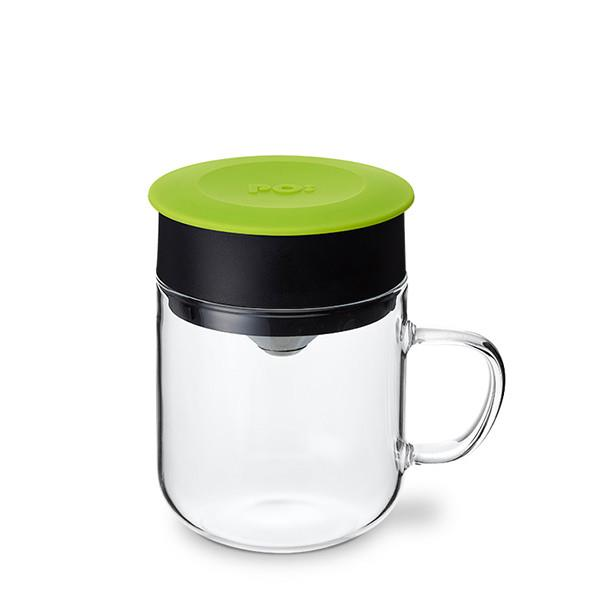 【PO:Selected】丹麥研磨過濾咖啡玻璃杯240ml  (綠)