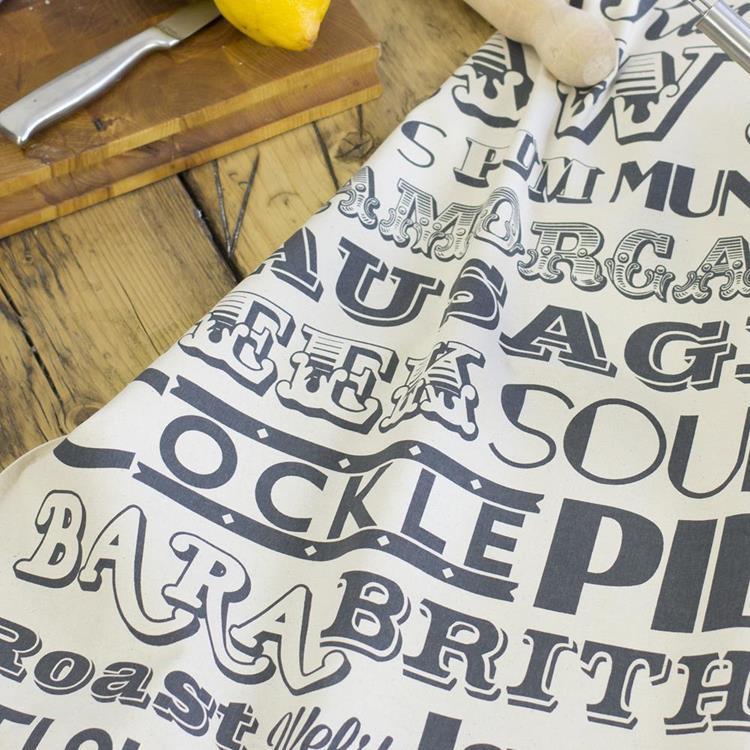 英國蛋 有機棉碗盤擦布 威爾斯晚餐