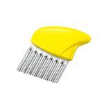 【SHIMOMURA下村工業】Fru Vege便利波浪不銹鋼蔬果刀-日本製