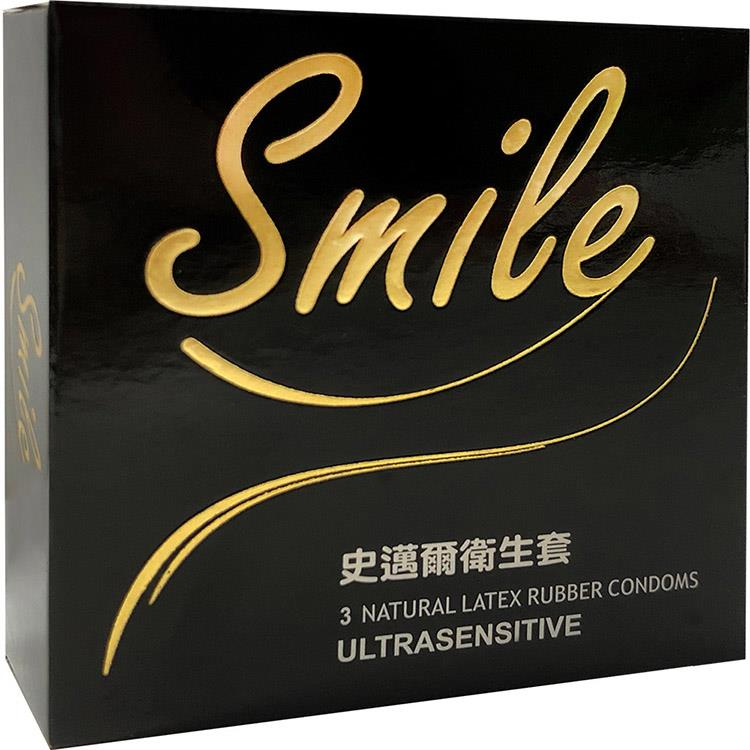SMILE史邁爾 衛生套保險套-超薄(3入/盒)