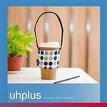 uhplus Love Life 隨行環保飲料袋-繽紛圓點