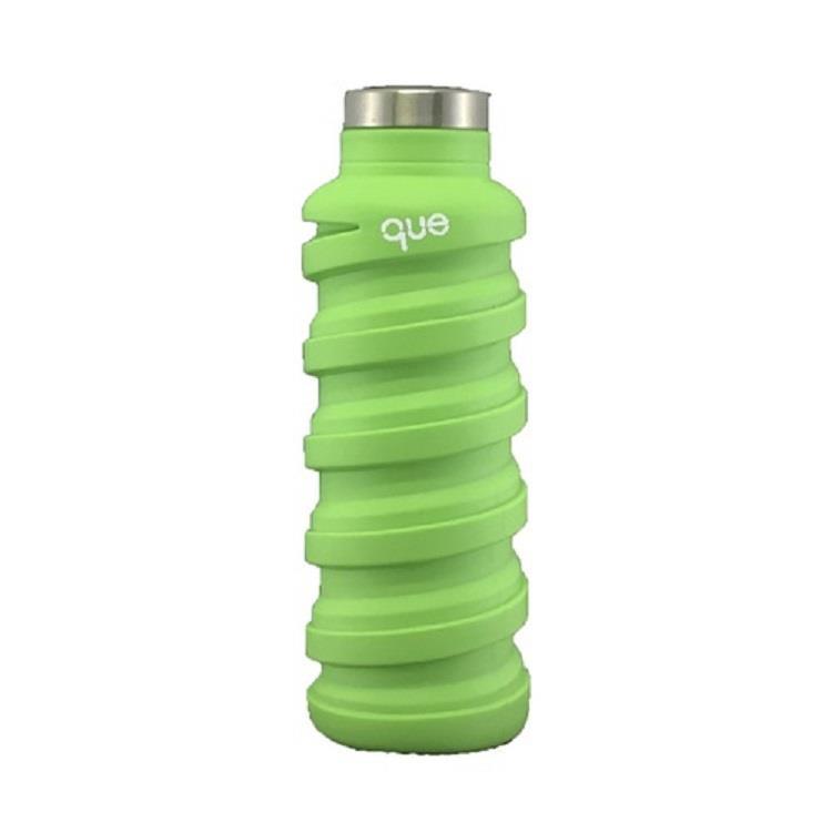 que Bottle 伸縮水瓶(355ml)/螢光綠