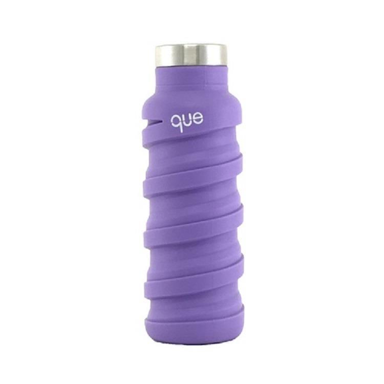 que Bottle 伸縮水瓶(355ml)/薰衣紫
