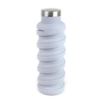 que Bottle 伸縮水瓶(600ml)/極簡灰
