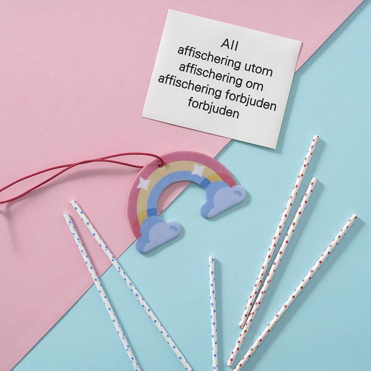 Scentlab 香氛實驗室|彩虹香氛吊飾 (鼠尾草與海鹽)