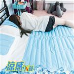 夏季冰涼冷凝墊-3件組(一床二枕)