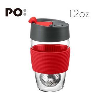 【PO:Selected】丹麥磁吸濾球魔力杯12oz (紅)