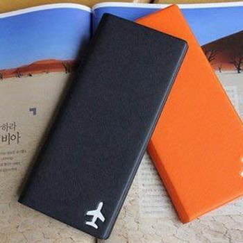 【FENICE】證件護照套(大)-深藍