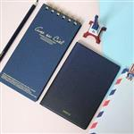 【FENICE】Midnight系列護照套(深藍) S size