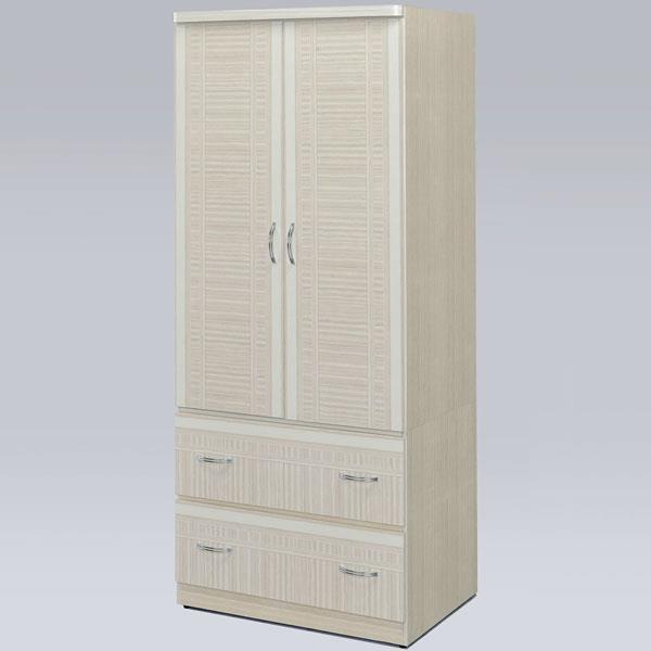 Yostyle 班克2.5x6尺衣櫃(雪松色)
