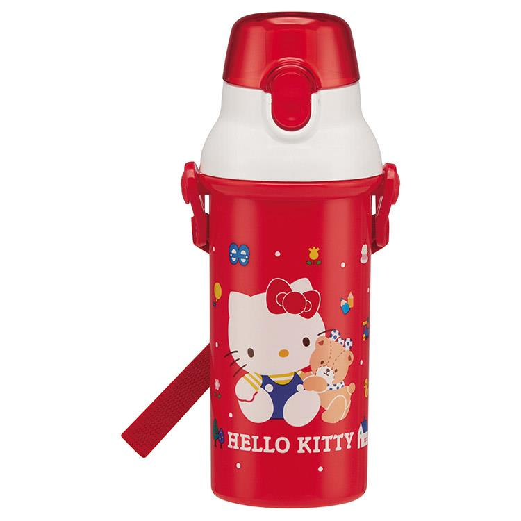 【WAVA】日本SKATER Hello Kitty 直飲式兒童水壺480ml