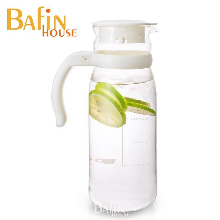 【Bafin House】台玻耐熱玻璃冷水壺1215ml