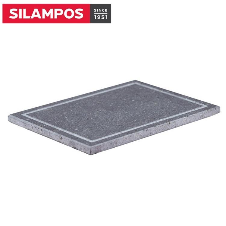 【葡萄牙SILAMPOS】火山岩石石板烤盤(有勾槽款)