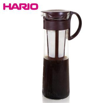 【日本 HARIO】附濾網 咖啡冷泡壺1000ml / 兩色隨機出貨(MCPN-14CBR)