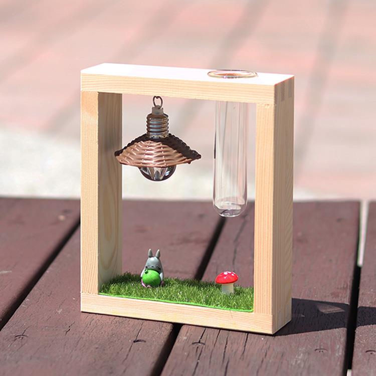 【迎光】龍貓微景觀試管花器