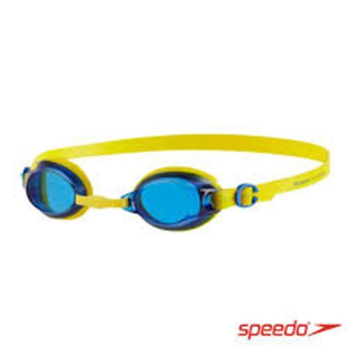 SPEEDO 兒童 JET 基礎泳鏡 SD809298B567 黃藍
