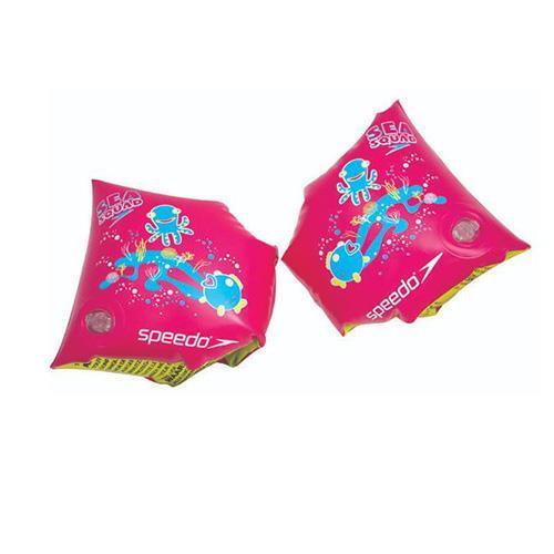 SPEEDO 兒童浮臂 臂圈 充氣式 粉紅 SD806946B432