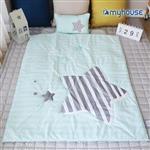 【 Babytiger虎兒寶 】myhouse 韓國防蟎兒童睡袋 - 流星藍
