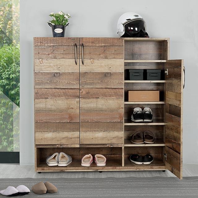 《YoStyle》森佐木4尺鞋櫃 置物櫃
