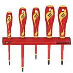 [天魔工具] 5件組 1000伏特絕緣螺絲起子懸掛組