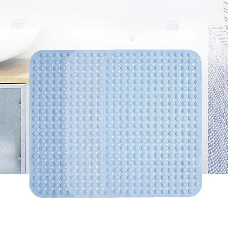 天空藍防滑浴室按摩地墊(1入)