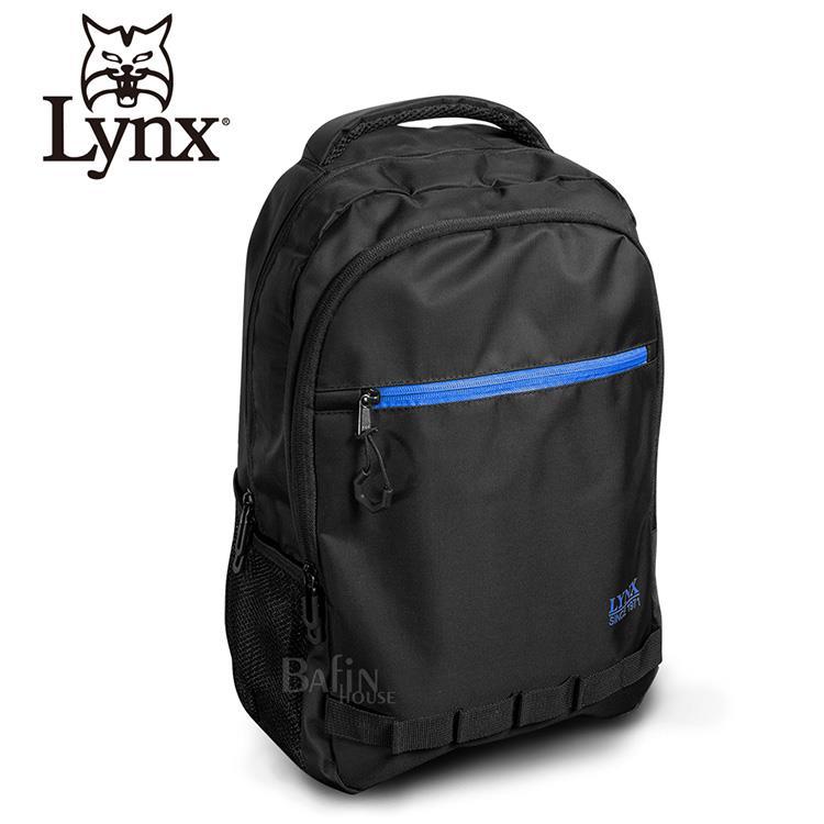【LYNX】防潑水休閒款多隔層機能後背包 (LY39-2N35-99)