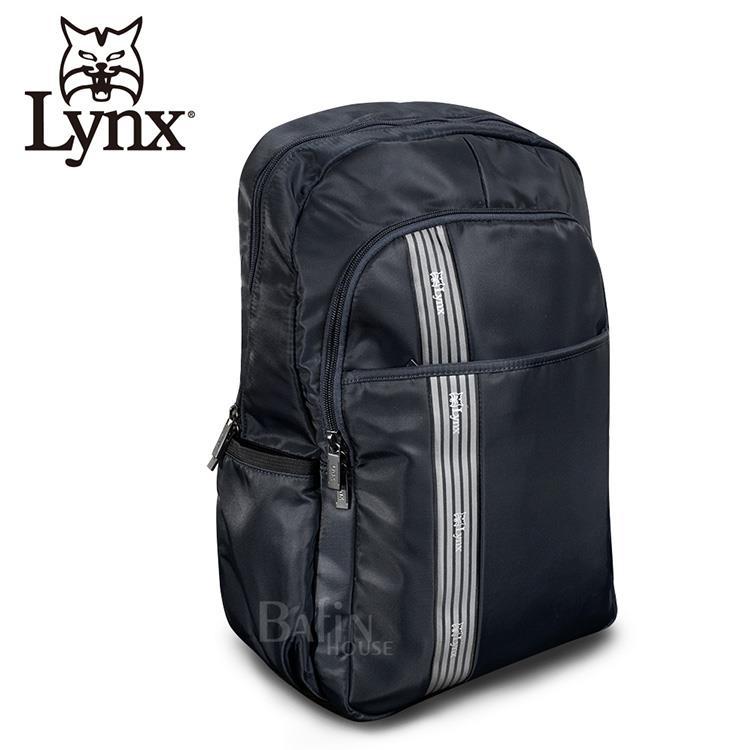 【LYNX】防潑水休閒款多隔層機能後背包 (LY39-1125-39)