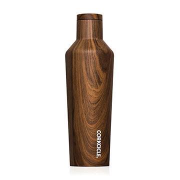 CORKCICLE 酷仕客Wood系列三層不鏽鋼易口保溫瓶470ml (胡桃木)