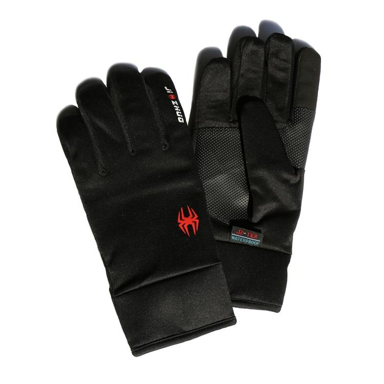 觸控保暖防水手套 - 黑色