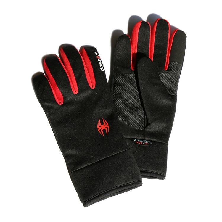 觸控保暖防水手套 - 紅色