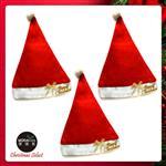 耶誕派對-簡單快樂聖誕帽(大人)(三入組)