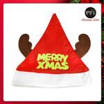 耶誕派對-綠字麋鹿角聖誕帽