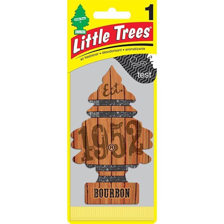LittleTrees小樹芳香片-波本
