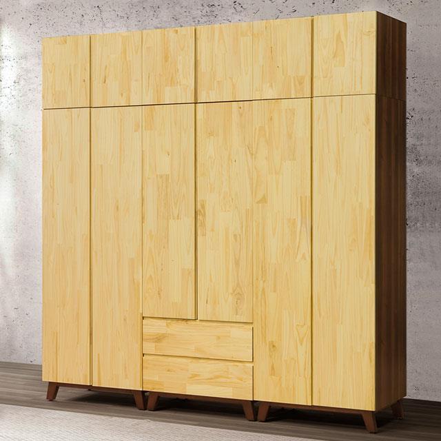 Yostyle 摩卡8x8.5尺大組合衣櫃