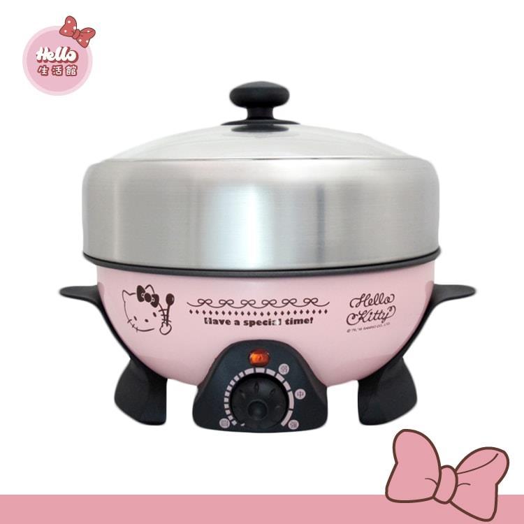 [Hello生活館] Hello Kitty多功能調理鍋