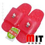 KT蝴蝶結浴室拖鞋-紅色-2雙入