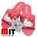 Hello Kitty室內拖鞋-粉紅色-4雙入