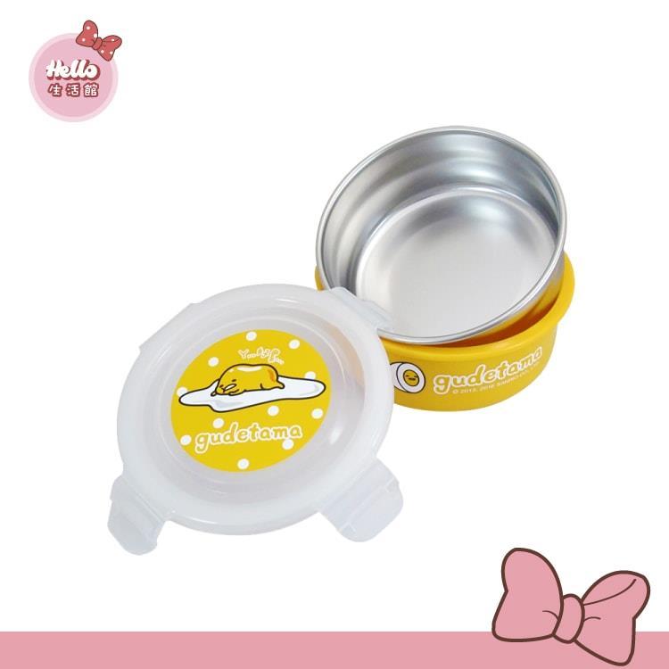 [Hello 生活館] Gudetama 蛋黃哥不鏽鋼環保碗400ml (台灣製)