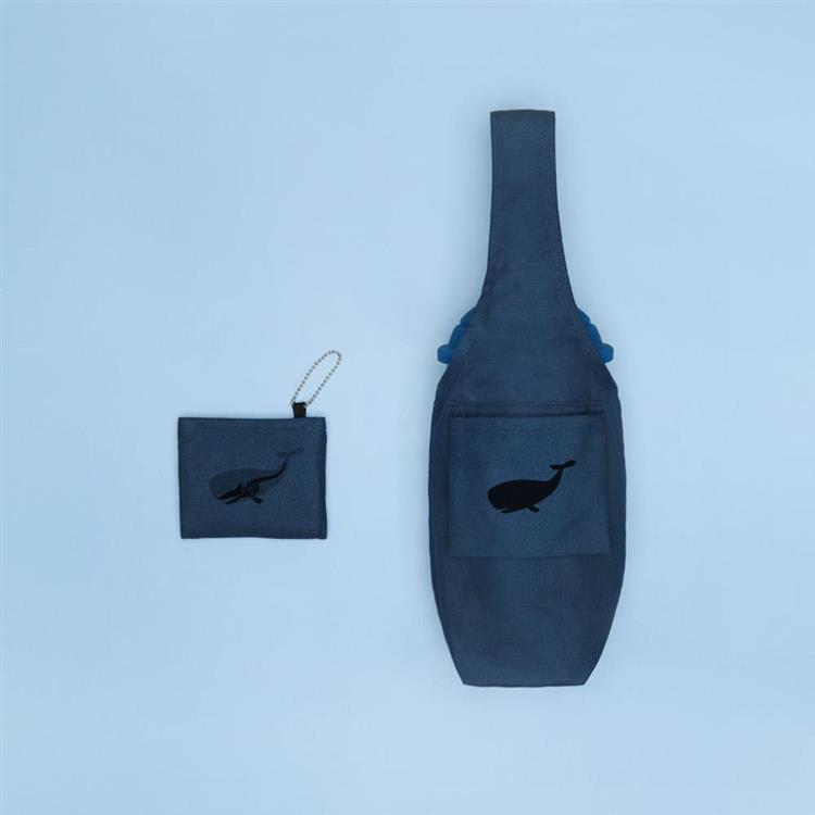 YCCT 環保飲料提袋包覆款 - 鯨魚