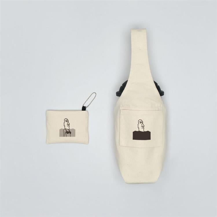 YCCT 環保飲料提袋包覆款 - 摩艾小魔女