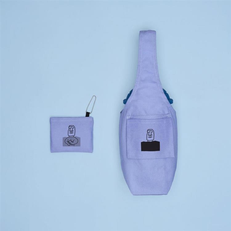YCCT 環保飲料提袋包覆款 - 摩艾小鮮肉