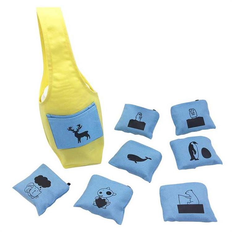 YCCT 環保飲料提袋包覆款 - 黃底藍袋(圖案任選)