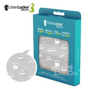 LitterLocker® Design 第三代貓咪鎖便桶衣(貓貼紙款)
