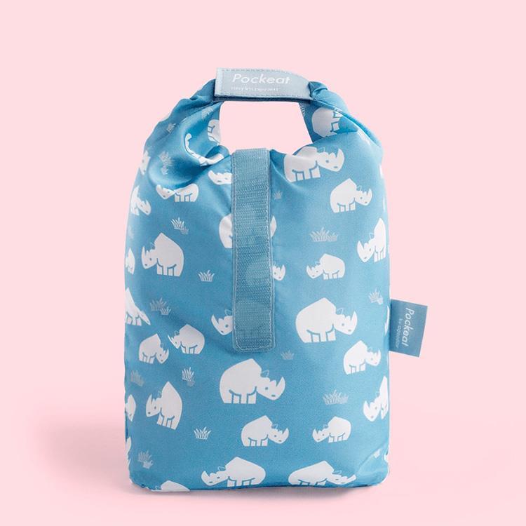 好日子 | Pockeat環保食物袋(大食袋) 犀牛