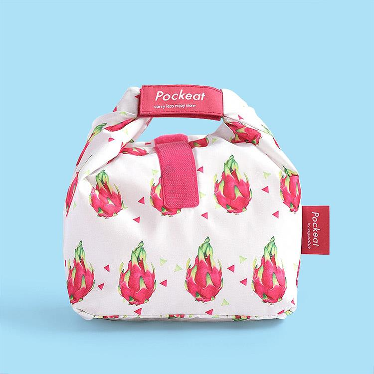 好日子 | Pockeat環保食物袋(小食袋) 火龍果