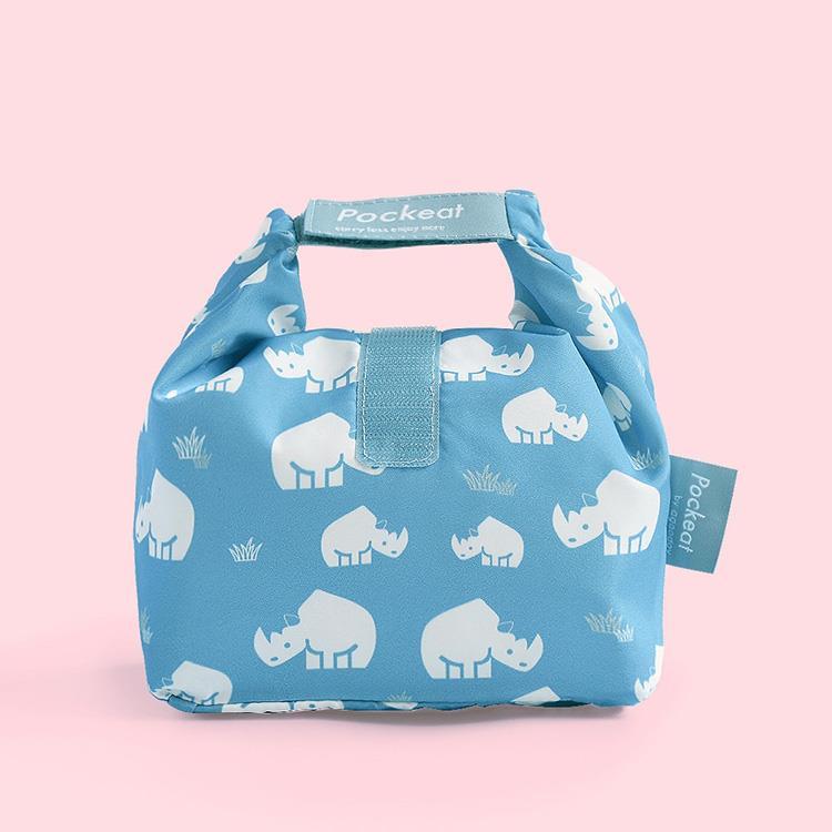 好日子 | Pockeat環保食物袋(小食袋) 犀牛