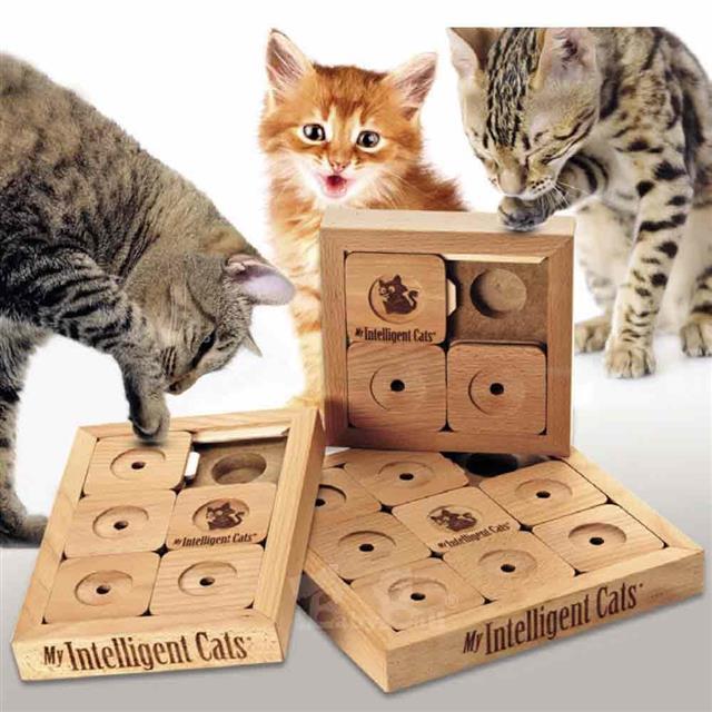 靈靈狗 貓咪數獨Cat'Sudoku® (中階版) 寵物桌遊 益智玩具 互動遊戲
